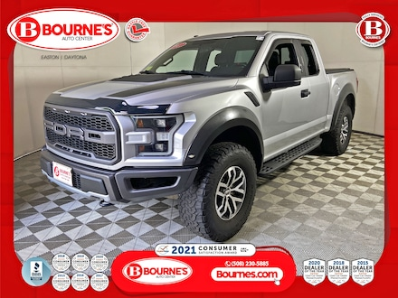 2017 Ford F-150 SuperCab Raptor 4WD w/Leather,Heated Seats. Truck SuperCab Styleside