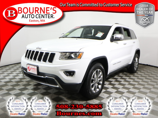 2015 Jeep Grand Cherokee 4WD Limited w/Navigation,Leather,Heated Seats, And Backup Camera. SUV
