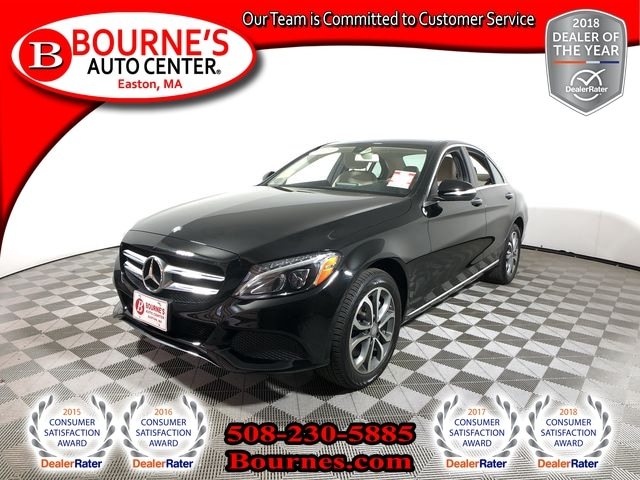 2015 Mercedes Benz C Class C 300 4MATIC W/Panoramic Sunroof,Nav