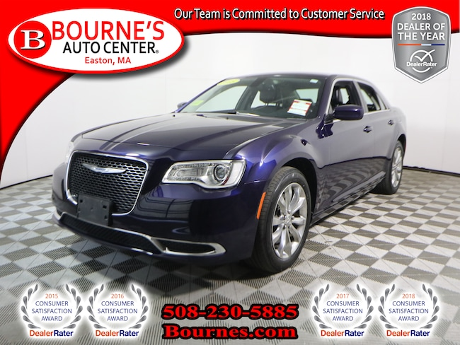 2015 Chrysler 300 Limited w/ Navigation,Leather, And Heated Front Se Sedan