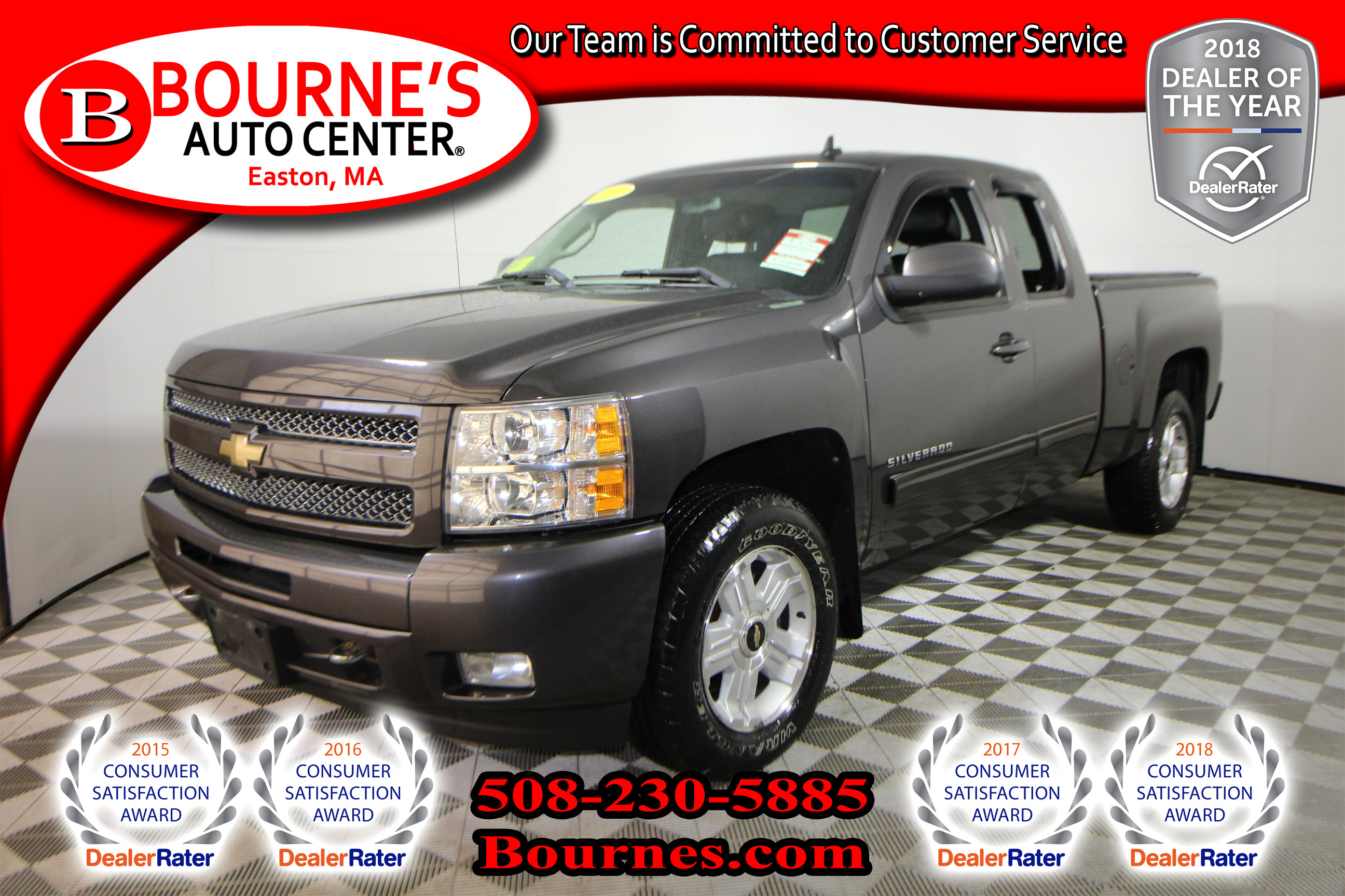 2011 Chevrolet Silverado 1500 LTZ Extended Cab 4x4 w/ Leather And Heated Front S Truck Extended Cab