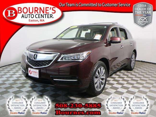 2016 Acura MDX SH-AWD w/ Tech Pkg Navigation,Leather,Sunroof,Heat SUV
