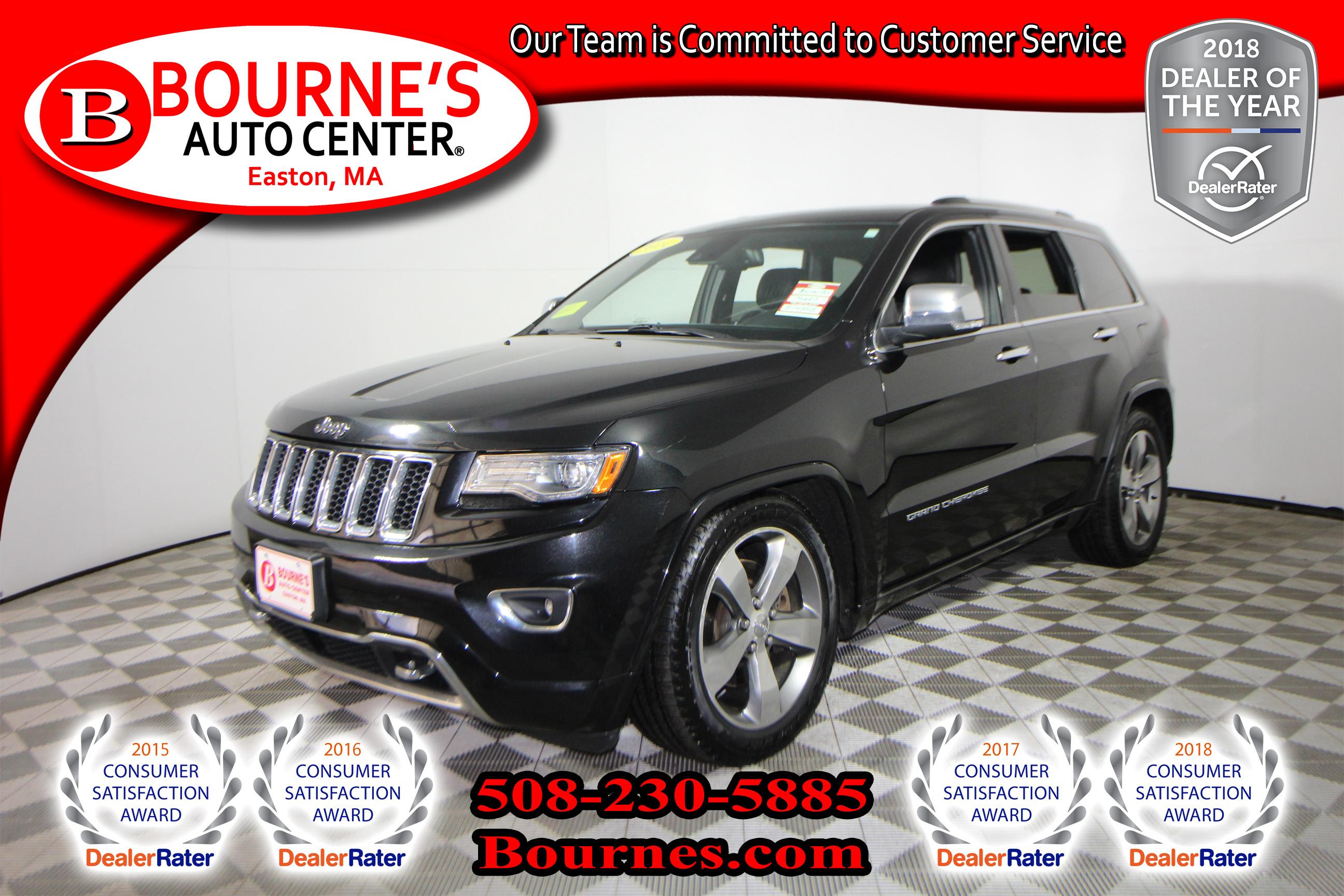 2014 Jeep Grand Cherokee Overland 4x4 w/ Navigation,Leather,Sunroof,Heated SUV