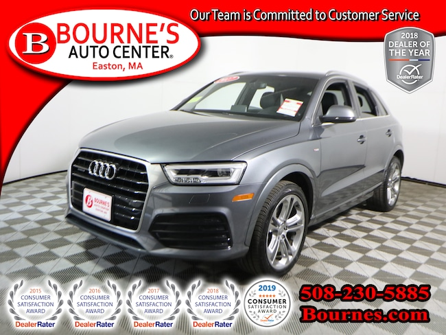 2017 Audi Q3 quattro Prestige w/Navigation,Heated Leather,Sunroof,Backup-Cam. SUV