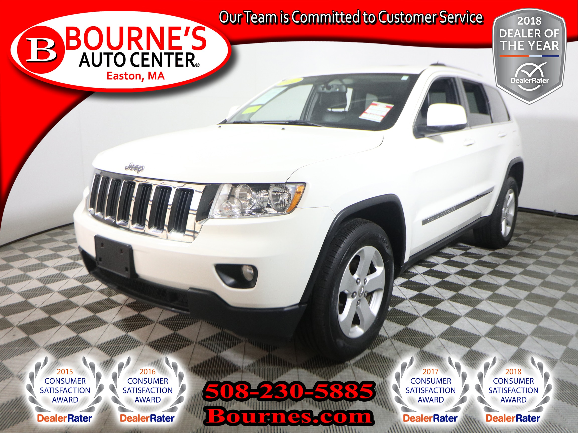 2012 Jeep Grand Cherokee Laredo 4x4 W/ Navigation,Leather,Sunroof,Heated  Front