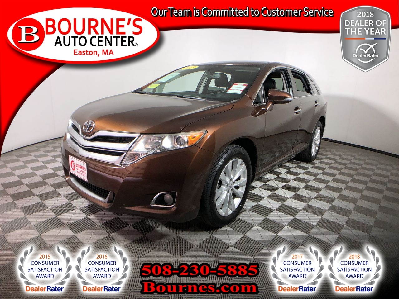 2013 Toyota Venza XLE 4WD W/Leather Crossover
