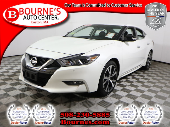 2016 Nissan Maxima SV w/Navigation,Leather,Heated Front Seats, And Backup-Cam Sedan