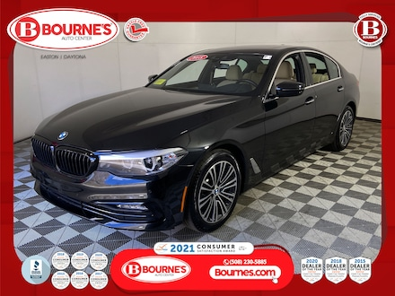 2018 BMW 530i xDrive w/ Navigation,Leather,Sunroof. Sedan