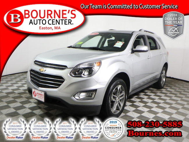 2017 Chevrolet Equinox AWD Premier w/Navigation,Heated Leather, And Backup Camera. SUV