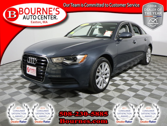 2015 Audi A6 2.0T Quattro Premium w/ Navigation,Leather,Sunroof Sedan