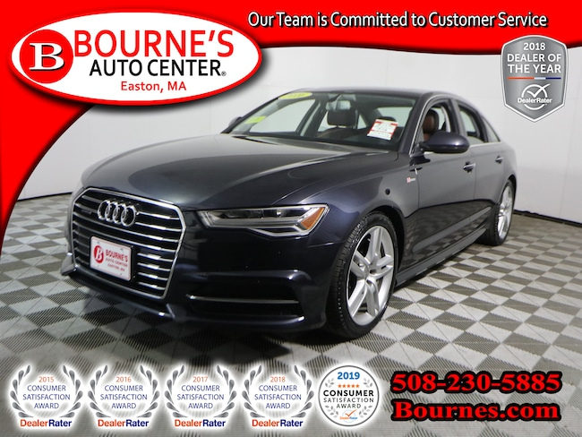 2016 Audi A6 Quattro Premium Plus w/Nav,Leather,Sunroof,Heated Seats, And Backup Camera. Sedan