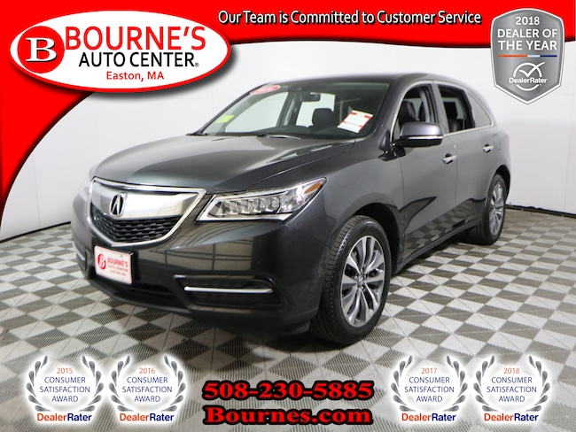 2016 Acura MDX SH-AWD w/Tech Pkg,Navigation,Leather,Sunroof,Heated Front Seats, And Backup Camera. SUV