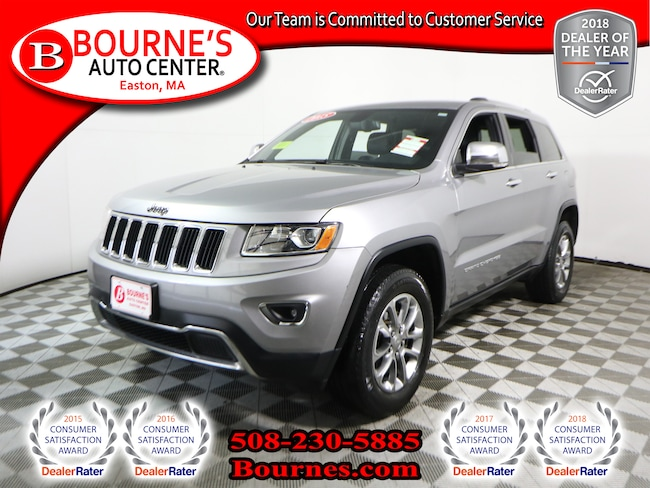 2015 Jeep Grand Cherokee 4WD Limited w/Navigation,Leather,Sunroof SUV