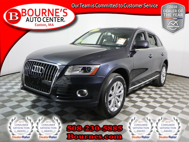 2017 Audi Q5 2.0T Premium w/ Navigation,Leather,Sunroof, And Heated Front Seats. SUV