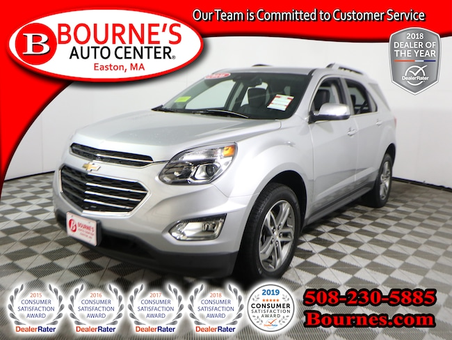 2016 Chevrolet Equinox AWD LTZ w/ Heated Leather Seats SUV