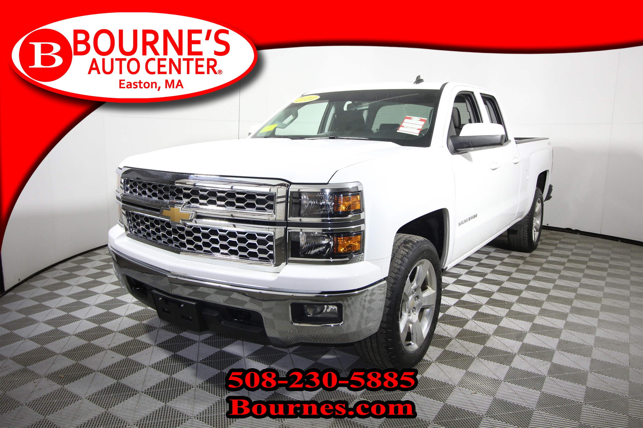 2014 Chevrolet Silverado 1500 Double Cab 4WD LT w/ Heated Front Seats And Backup Truck Double Cab