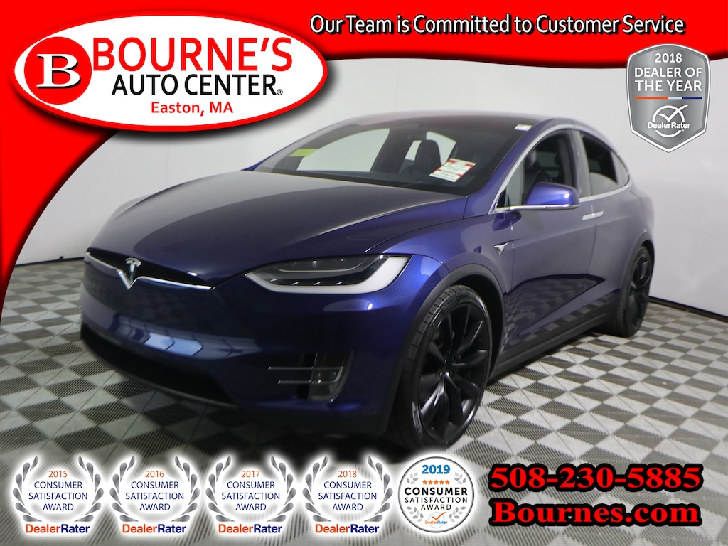 Used 2017 Tesla Model X For Sale At Bournes Auto Center Vin