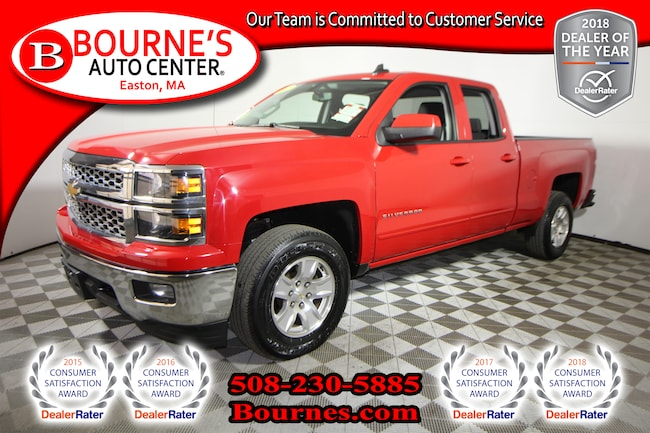 2015 Chevrolet Silverado 1500 LT /1LT w/ Heated Front Seats And Backup Camera. Truck Double Cab