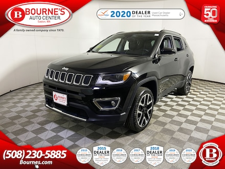 2018 Jeep Compass Limited 4WD Navigation,Leather,Heated Seats. SUV