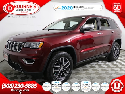 2017 Jeep Grand Cherokee Limited 4WD w/ Leather,Sunroof,Heated Seats. SUV