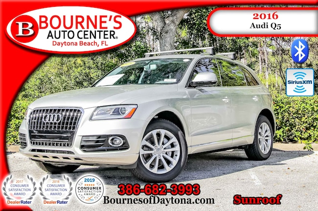 2016 Audi Q5 AWD Premium w/Navigation,Leather,Sunroof SUV