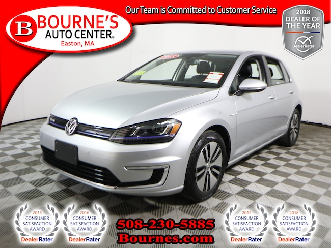 2015 Volkswagen e-Golf SEL Premium w/ Navigation,Leather,Heated Front Seats, And Backup Camera. Hatchback