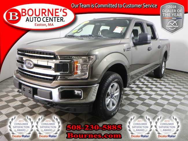 2018 Ford F-150 Super Crew 4WD w/ Backup Camera. Super Crew