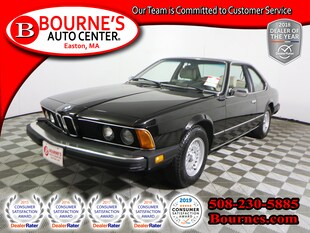 1983 BMW 633CSI w/ Leather And Sunroof. Coupe