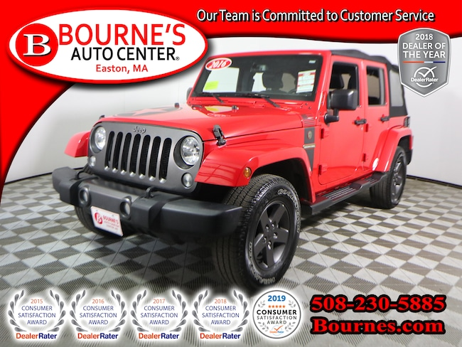 2016 Jeep Wrangler JK Unlimited 4WD Freedom Pkg. w/Navigation,Leather, And Heated Front Seats. SUV