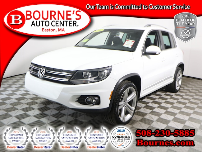 2016 Volkswagen Tiguan AWD R-Line w/Heated Leather Seats SUV