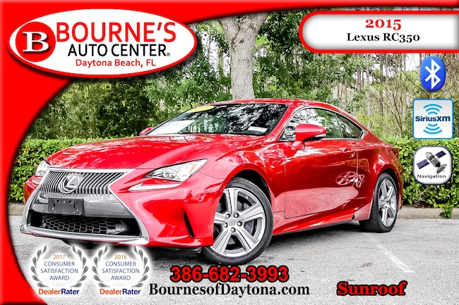 2015 LEXUS RC 350 AWD w/Navigation,Leather,Sunroof Coupe