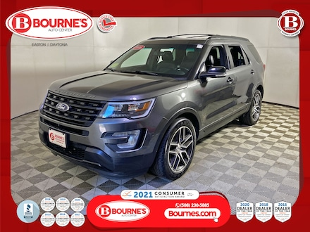 2016 Ford Explorer Sport 4WD w/Navigation,Leather,Sunroof. SUV