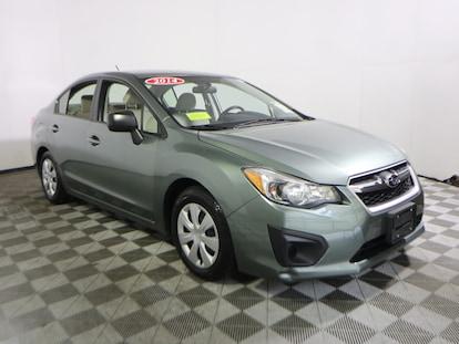 Used 2014 Subaru Impreza For Sale at Bourne's Auto Center