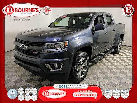 2017 Chevrolet Colorado Crew Cab Z71 4WD w/Heated Seats,Backup-Cam. Truck Crew Cab