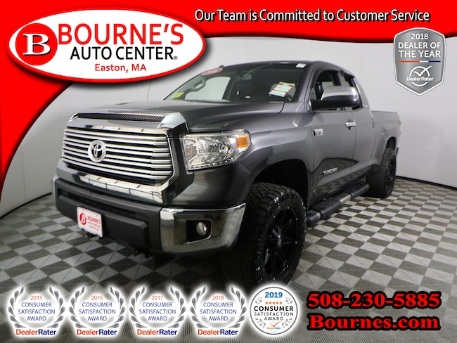 2016 Toyota Tundra 4WD Double Cab Limited w/ Navigation,Leather, Heat Truck Double Cab