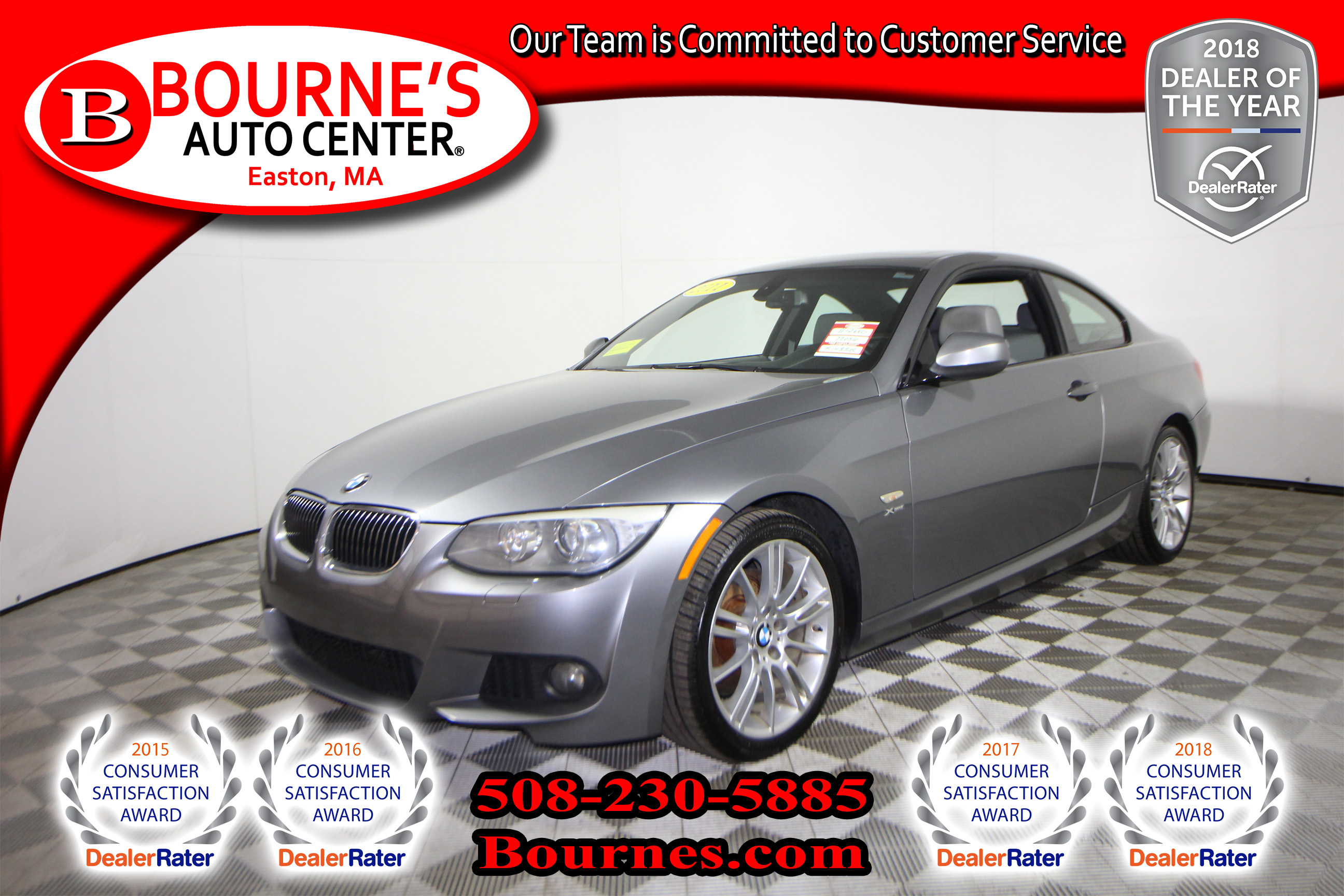 2011 BMW 328i xDrive w/ Leather And Sunroof. Coupe