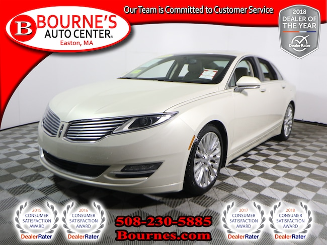 2016 Lincoln MKZ AWD w/Leather,Sunroof,Heated/Cooled Front Seats, A Sedan