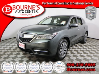 2016 Acura MDX AWD w/Tech/AcuraWatch Plus  Nav,Leather,Sunroof,Heated Front Seats, And Backup Camera. SUV