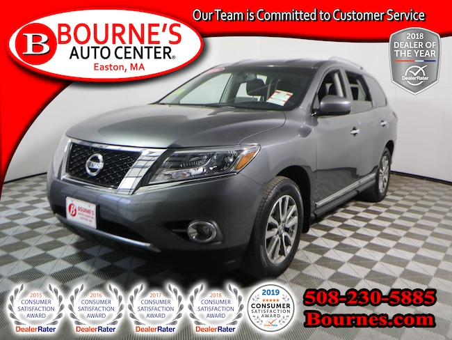 2016 Nissan Pathfinder 4WD SL w/Heated Leather,Backup-Cam SUV