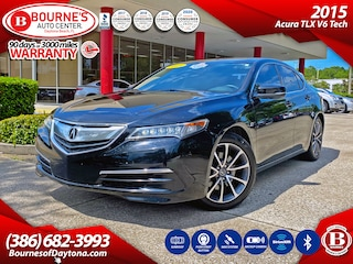 2015 Acura TLX V6 Tech w/Leather, Navigation, Sunroof, Backup Camera Sedan