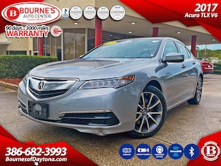 2017 Acura TLX V6 w/Leather, Sunroof, Push Start, Backup Camera,  Sedan