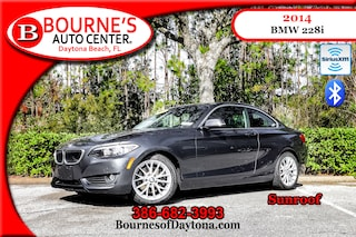 2014 BMW 228i Sunroof/ XM/ Bluetooth/ Leather Coupe