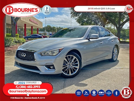 2018 INFINITI Q50 3.0t LUXE w/Essential and ProASSIST Packages Sedan