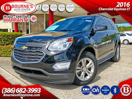 2016 Chevrolet Equinox LT w/Bluetooth, Backup Camera, SiriusXM, OnStar SUV