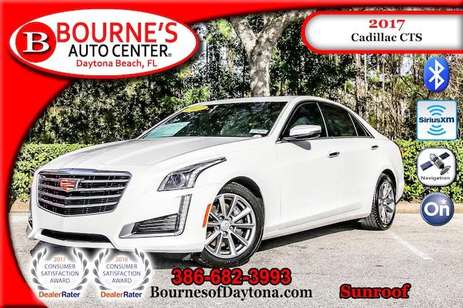 2017 Cadillac CTS Sunroof/ OnStar/ Nav/ Leather Sedan