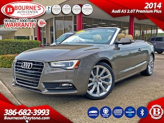 2014 Audi A5 Conv. 2.0T Premium Plus w/Leather,Bluetooth Convertible