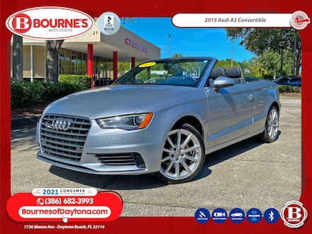 2015 Audi A3 Convertible w/Navigation,Leather,Bluetooth Cabriolet
