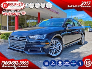 2017 Audi A4 2.0T Premium w/Leather, Navigation, Sunroof, Backup Camera Sedan