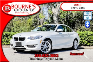 2015 BMW 228i Sunroof/ XM/ Bluetooth/ Leather Coupe