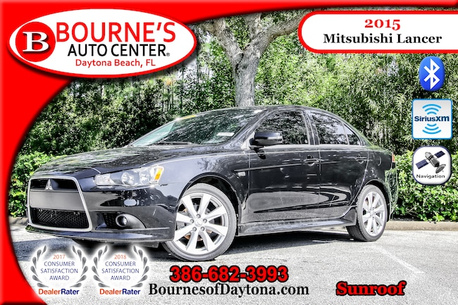 2015 Mitsubishi Lancer GT Sunroof/ Nav/ XM/ Leather Sedan